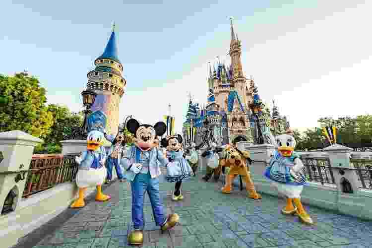 50 anos do Walt Disney World - Divulgação - Divulgação