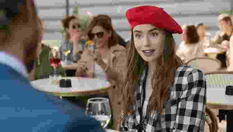 """""""Emily em Paris"""", série da Netflix - Reprodução - Reprodução"""