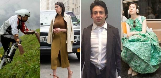Bode, Kim Kardashian, pijama no trabalho ou vestido longo no metrô: qualquer desafio pode ser aceito - Reprodução/Elle/Marie Claire