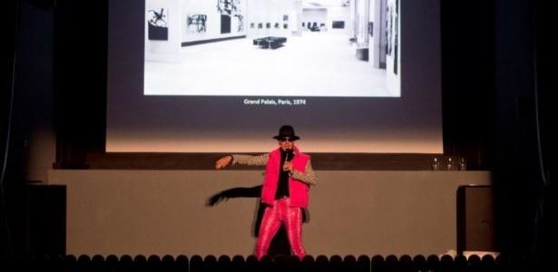 Neto de Miró faz performance para marcar abertura de exposição em Zurique - Divulgação/Galerie Gmurzynska