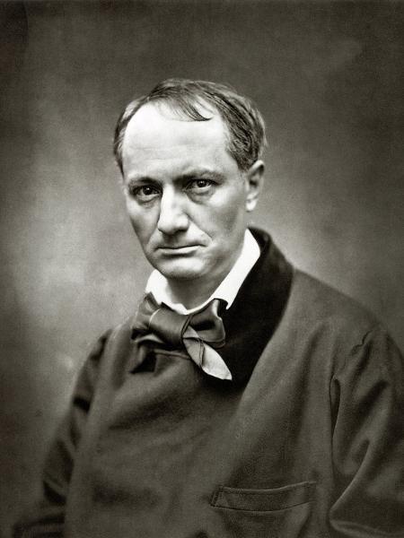 """Retrato do poeta francês Charles Baudelaire, autor de obras como """"Flores do Mal"""" - Dibulgação"""