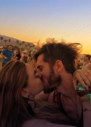 Tainá Müller e o marido, Henrique Sauer - Reprodução/Instagram/tainamuller