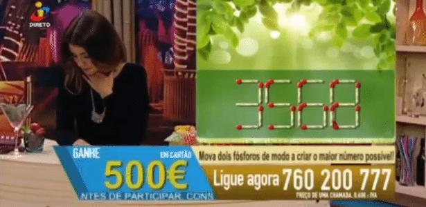 A apresentadora portuguesa Erica Cardoso passa mal e desmaia ao vivo na TV - Reprodução/TVI