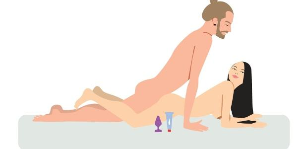 Facilitar penetracion anal