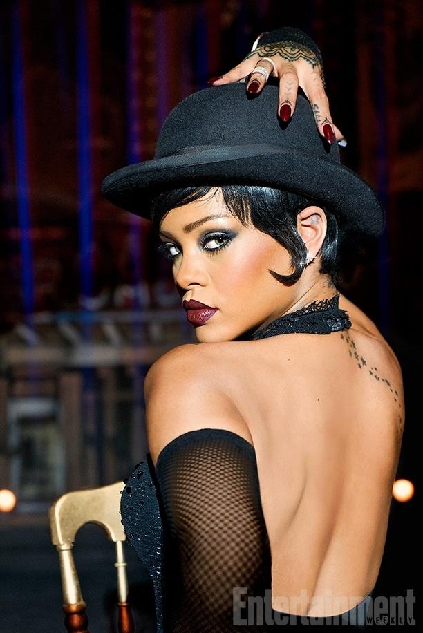 Divulgada primeira imagem de Rihanna no filme