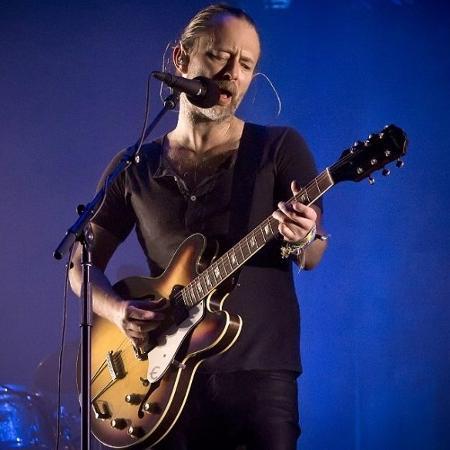 Thom Yorke, líder do Radiohead - Getty