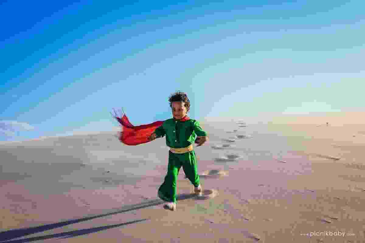 Ensaio fotográfico Pequeno Príncipe Negro - Mari Merlim/Picnik Baby Photos/Divulgação