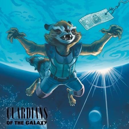 """Rocket em versão de """"Nevermind"""", do Nirvana - Divulgação/Marvel"""