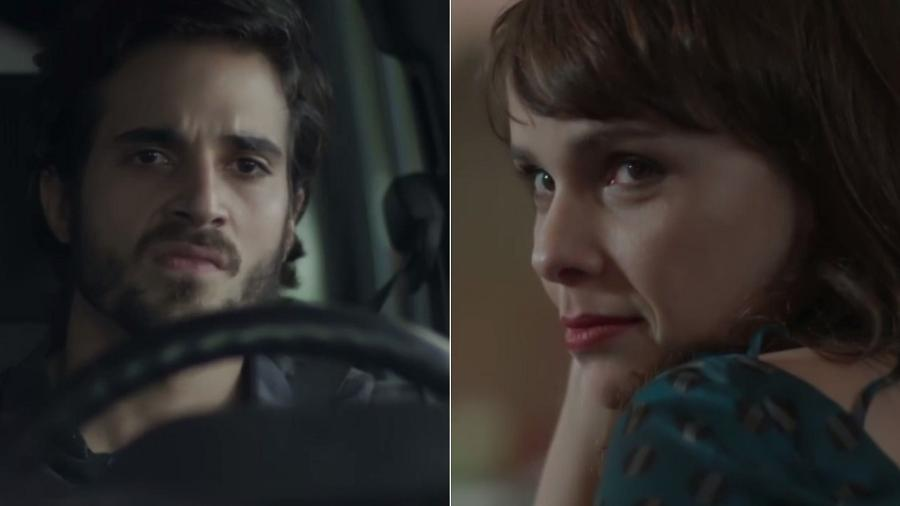 """Ruy tenta atropelar Irene em """"A Força do Querer"""" - Montagem/Reprodução/TV Globo"""