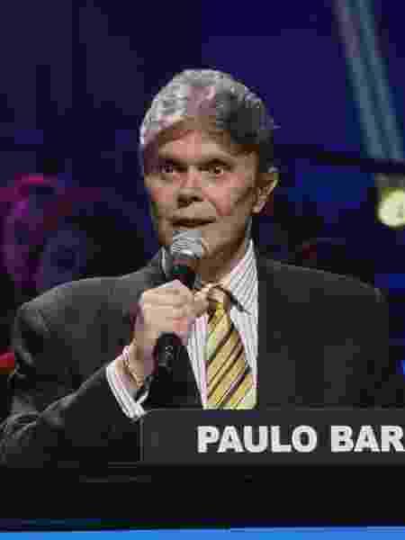 """Paulo Barboza no """"Troféu Imprensa"""" - Reprodução/SBT 2013"""