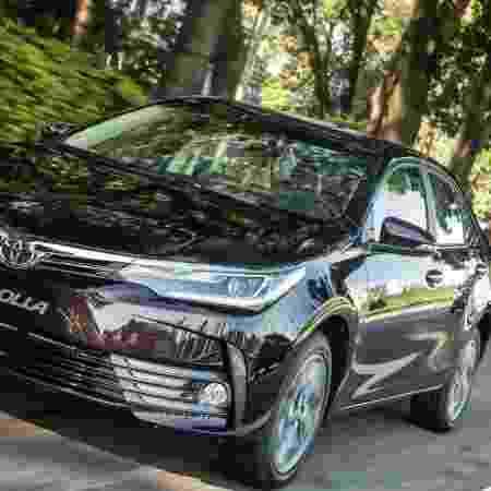Toyota Corolla similar ao usado pelo adolescente - Divulgação