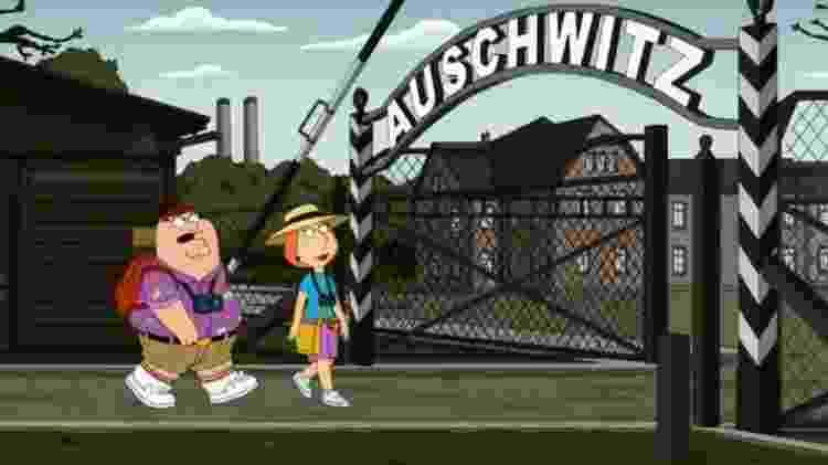 """""""Family Guy"""" fez piada com Walt Disney e Auschwitz - Reprodução - Reprodução"""