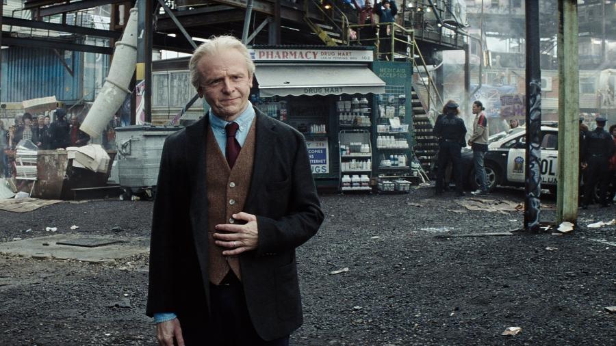 """Simon Pegg em cena de """"Jogador Nº 1"""", de Steven Spielberg - Jaap Buitendijk/Warner Bros."""