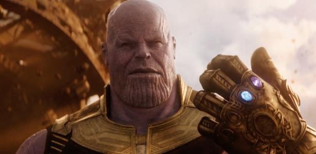 """Thanos empunha a Manopla do Infinito com as Joias do Poder e do Espaço no trailer de """"Vingadores: Guerra Infinita"""""""