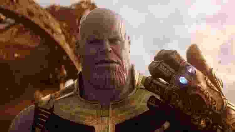 """Thanos em """"Vingadores: Guerra Infinita"""" - Reprodução"""