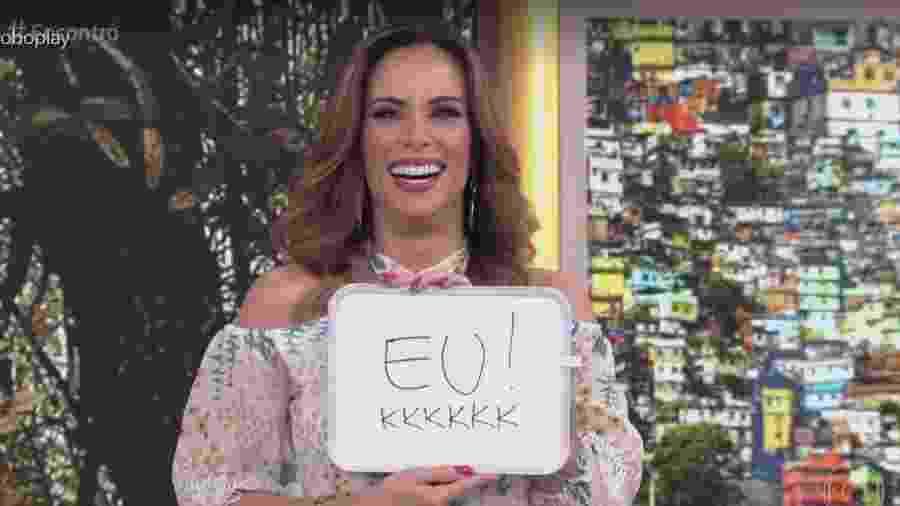 """Ana Furtado apresenta o """"Encontro"""" - Reprodução/Globo"""
