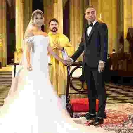 Lexa e Guimê se casam em cerimônia realizada pelo padre Fábio de Melo - Manuela Scarpa/Brazil News