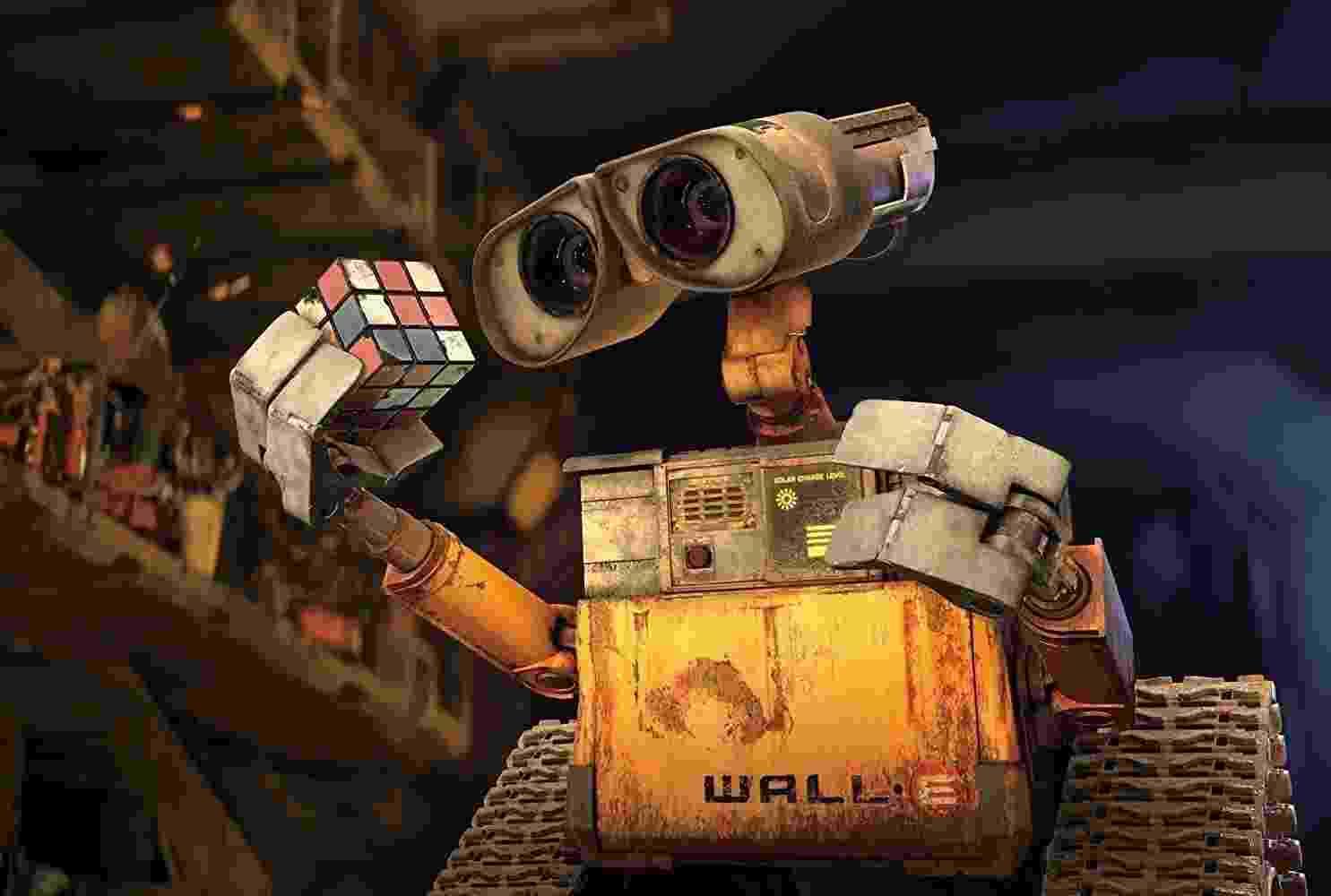 """Cena de """"WALL-E"""" (2008) - Divulgação"""
