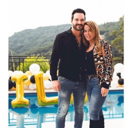Zilu Camargo e Marco Augusto Ruggiero - Reprodução/Instagram