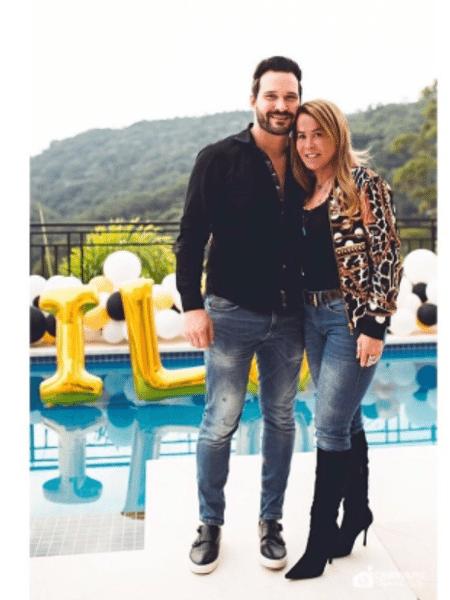 Zilu Camargo e o namorado Marco Augusto Ruggiero - Reprodução/Instagram