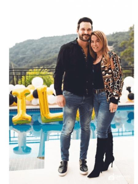 Zilu Camargo e o namorado, Marco Augusto Ruggiero - Reprodução/Instagram