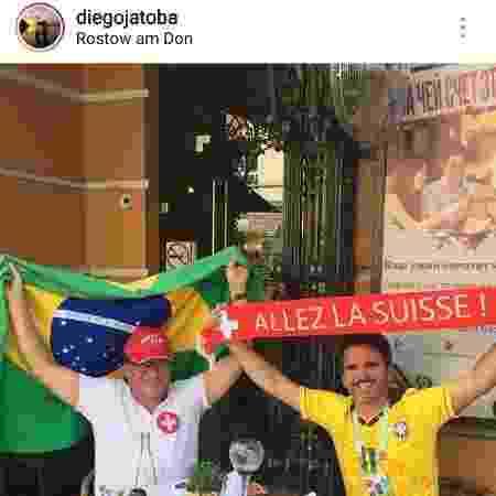 Diego Jatobá (à direita)  - Reprodução/Instagram/@diegojatoba