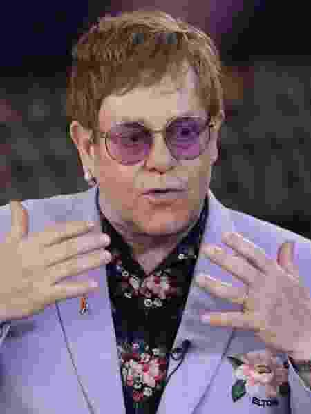 """Elton John: """"Se eu não tivesse finalmente dado o grande passo há 30 anos, eu poderia estar morto"""" - Eva Plevier/Reuters"""