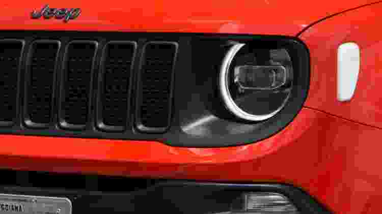 Jeep Renegade Trailhawk 2019 grade - Murilo Góes/UOL - Murilo Góes/UOL