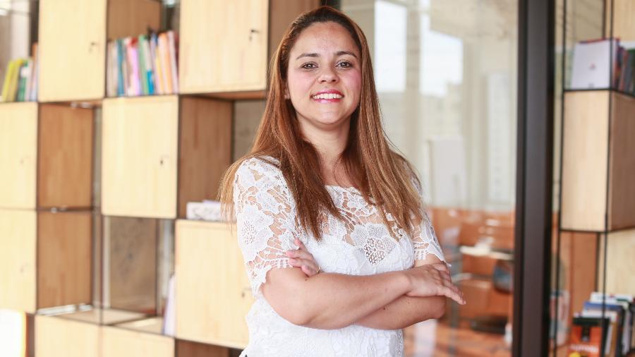 A vereadora Janaína Lima é pioneira no conceito de coworking legislativo na cidade de São Paulo - Iwi Onodera/UOL