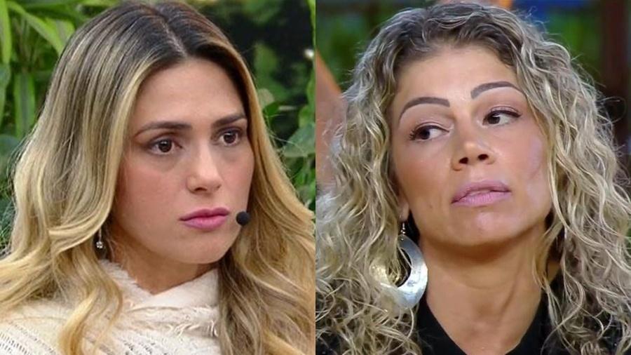 Nadja Pessoa e Catia Paganote - Reprodução / Record TV