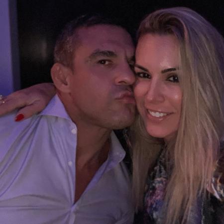 Vitor Belfort e Joana Prado comemoram 15 anos de casados - Reprodução/Instagram