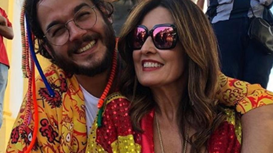 Fátima e Túlio aproveitaram final de semana de Carnaval no Recife - Reprodução/Instagram