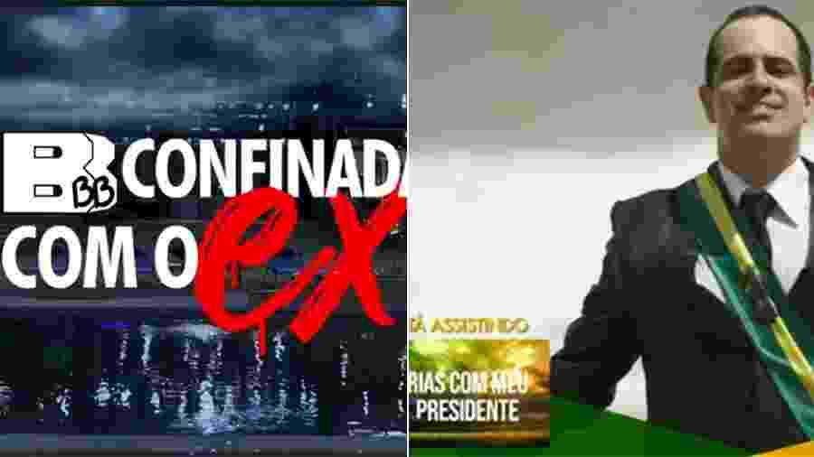 """""""BBB19"""" e """"Tá no Ar"""" fazem paródias do """"De Férias com o Ex Brasil"""", da MTV - Reprodução/TV Globo"""