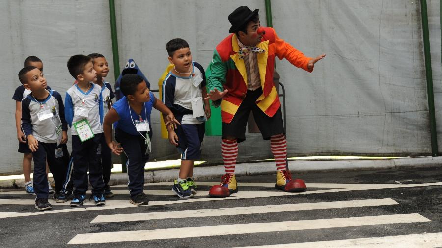 Escolas podem ter lições de trânsito para seus alunos através do projeto Clube do Bem-te-vi - Divulgação
