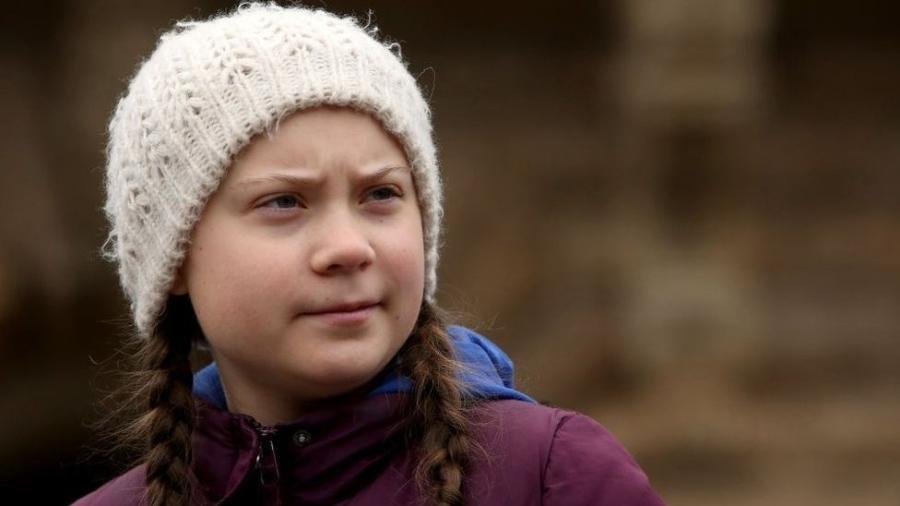 """Greta Thunberg iniciou o movimento """"Fridays For Future"""" para pressionar os políticos a lutar contra as mudanças climáticas - Getty Images"""
