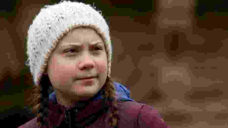 "Greta Thunberg iniciou o movimento ""Fridays For Future"" para pressionar os políticos a lutar contra as mudanças climáticas - Getty Images"