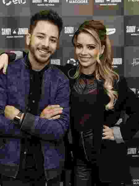 Turnê Nossa História, com Sandy e Júnior, não deve virar especial na Globo   - Mariana Pekin/UOL