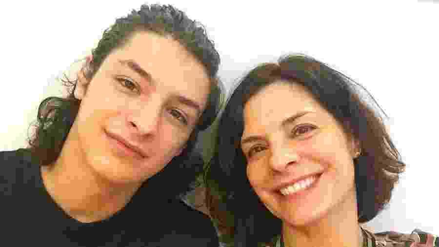 Helena Ranaldi com o filho, Pedro Waddington - Reprodução/Instagram