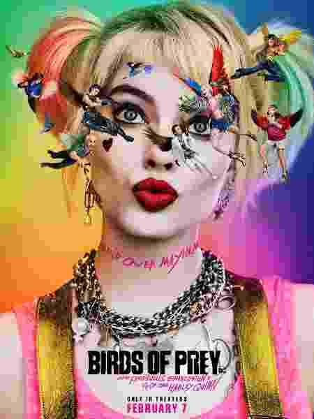 Novo pôster de Aves de Rapina - Reprodução/Twitter