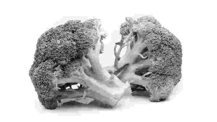 Brócolis p&b - iStock - iStock