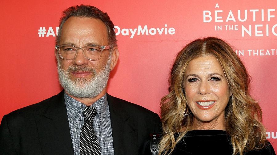 Tom Hanks e Rita Wilson foram diagnosticados com coronavírus na quarta-feira 11) - FilmMagic