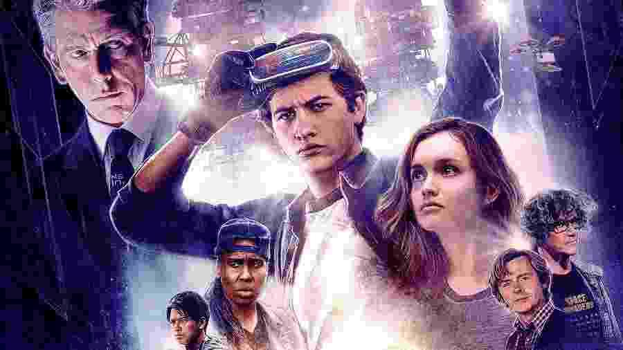 """O filme """"Jogador Número 1"""" (2018), inspirado nas aventuras de videogame, é dirigido por Steven Spielberg - Divulgação"""