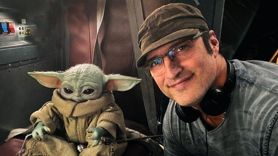 """Robert Rodriguez é confirmado como diretor de """"The Mandalorian"""" segunda temporada - Reprodução/Twitter/@Rodriguez"""