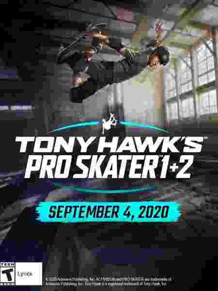"""Nova versão reúne os dois primeiro Tony Hawk""""s Pro Skater  - Reprodução"""