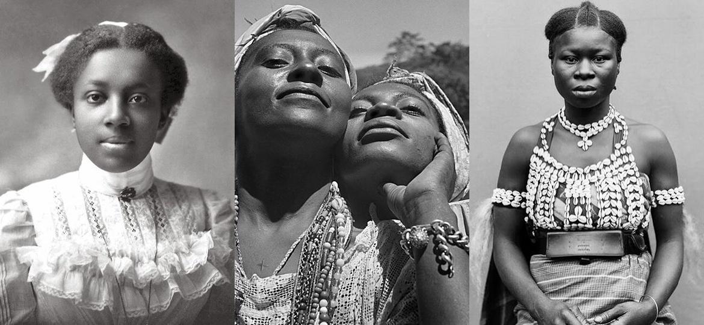 Mulheres estudadas por Hanayrá Negreiros, reproduzidas em seu perfil - Reprodução/Instagram/hana.yra