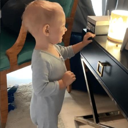 Filho de Nick Cordero fala primeiras palavras - Reprodução/Instagram