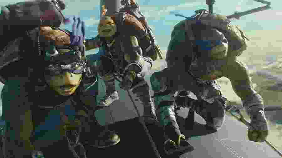 """Cena do filme """"As tartarugas Ninjas — Fora das Sombras"""", de 2016 - Reprodução/IMDb"""