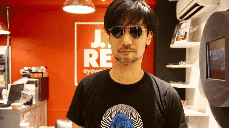 Hideo Kojima (Death Stranding) - Reprodução / Twitter (@hideo_kojima_en) - Reprodução / Twitter (@hideo_kojima_en)