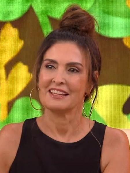 """Fátima Bernardes falou de """"BBB 21"""" no """"Encontro"""" - Reprodução/Globoplay"""