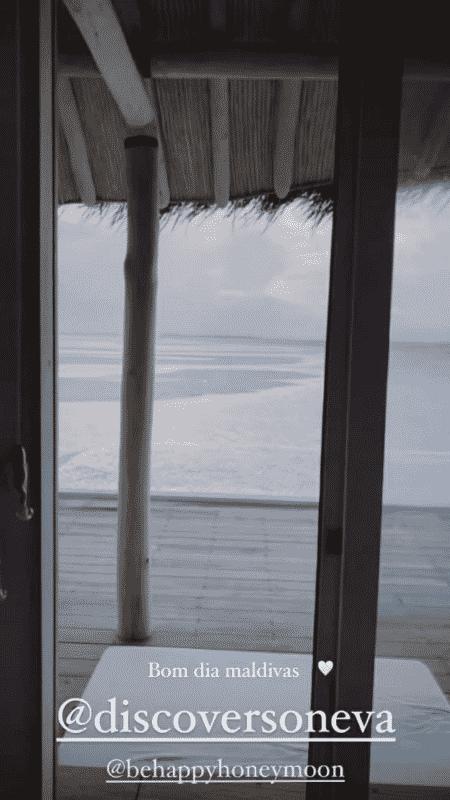 Vista para o mar no quarto de hotel de Sasha e João Figueiredo - Reprodução/Instagram - Reprodução/Instagram